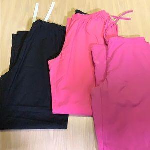 Bundle of 3 scrub pants